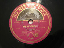 "MILIZA KORJUS (Soprano) ""The Nightingale""/""Laughing Song"" 78rpm 12"" 1947 EB374"