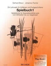 SPIELBUCH 1, braun et fischer (flûte solo) SY2614