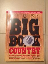 The big book of country, claviers, guitare, chant