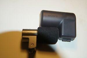 Genuine Sony ECM-SST1 ECMSST1 Compact Stereo Wireless Microphone for NEX camera