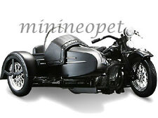 Maisto 03174 Harley Davidson 1948 Fl with Side Car Motorcycle 1/18 Black