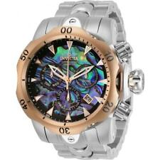 Invicta 52mm Men's Venom Swiss Z60 Chrono Abalone Dial SS Bracelet Watch 1000m