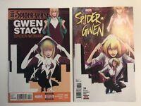 SPIDER-GWEN #34 / Last Issue Homage Cover /1st Spider Gwen / Edge Spider-verse 2