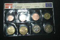 LETTLAND (LATVIA) EURO KURSMÜNZENSATZ 2014 stgl.