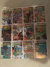 Teenage Mutant Ninja Turtles Adventures Comic Book Lot Of 12