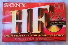 K7 Tape cassette audio SONY  C-90 HFC -  for CD