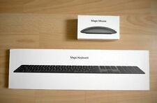 Apple Magic Keyboard mit Ziffernblock QWERTZ MRMH2D/A + Mouse 2 Space Gray OVP