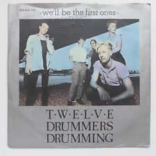 TWELVE DRUMMERS DRUMMING We'll be the first ones 814 415 7 Discothèque RTL