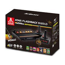 Atari Flashback 8 Gold Console 720p HDMI + 130 Built in Games + 3 Bonus Posters