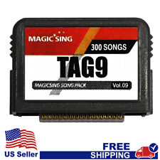 """MAGIC SING Chip """"Tagalog 9""""  - Tagalog & English Song Chip w/ SONG LIST"""
