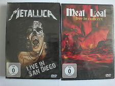 Metallica live in San Diego + Meat Loaf with Patti Rossi 2004 - Sammlung, Paket