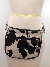 Leatherock USA San Diego Leather Belt Cow Hide Bag Purse Fanny Pack Western S
