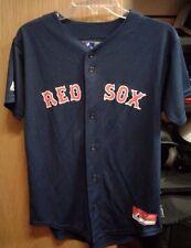 NEW BOSTON RED SOX YOUTH DRI FIT JERSEY MLB BASEBALL MAJESTIC COOL BASE BLANK