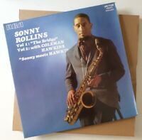 Sonny Rollins Vol 1 The Bridge Vol 2 With Coleman Hawkins Sonny Meets LP VINYL
