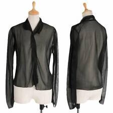 Yohji Yamamoto FEMME Nylon pullover shirt Size M(K-30160)