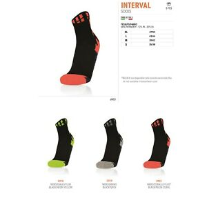 5 PAIRS OF SOCKS RUNNING ATHLETICS INTERVAL - MACRON - Size from 35 to 50