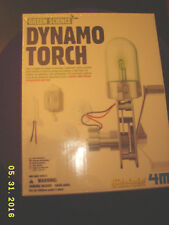 TOYSMITH Green Science Dynamo Torch 4M KIDZLABS Fun Science Products SEALED NEW!