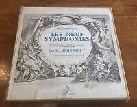 CARL SCHURICHT BEETHOVEN 7x33 T, Coffret complet les 9 Symphonies,TRX 6151-6157