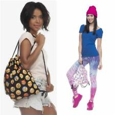 Unicorn Drawstring Tote String Bags Travel PE Gym School Laundry Backpack NEW LH