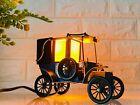 Vintage Coronet Tinplate Taxi Lamp Automobilia Retro