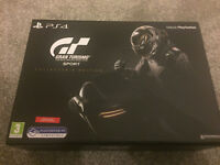 Gran Turismo Sport -- Collector's Edition (Sony PlayStation 4, 2017) NEW/SEALED