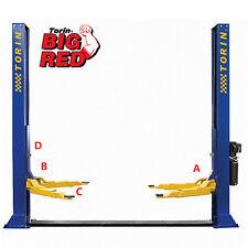 Big Red 3 Ton Two Post Hydraulic Car Hoist, Garage Lift, Vehicle Lift, QJY230CY
