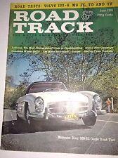 Road & Track Magazine LeBaron Mercedes Benz 300-SL June 1961 041917nonrh
