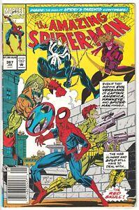 1992 AMAZING SPIDER-MAN #367 Australian Price APV AUD Aus Variant Marvel Comics
