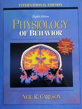 TEXTBOOK Physiology of Behavior Neil R. Carlson w CD ROM International Edition