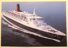 rms Queen Elizabeth 2 . Cunard Line . QE2 Cruise Ship Boat British Ocean Liner