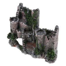 Artificial Rockery Aquarium Landscape Castle Fish Tank Aquarium Decorations