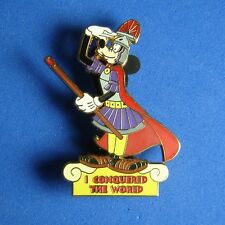 Goofy I Conquered the World WDW Disney Pin