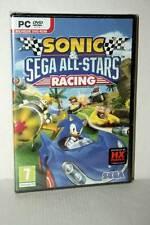 SONIC & SEGA ALL-STARS RACING GIOCO NUOVO PC DVD VERSIONE ITALIANA VBC 47296
