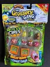 Grossery Gang Series 2 Moldy Chips 10 Pack Glowing Grosseries Inside Strawberry