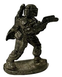 Monopoly Star Wars Classic Trilogy Edition 1997 Boba Fett Pewter Game Token