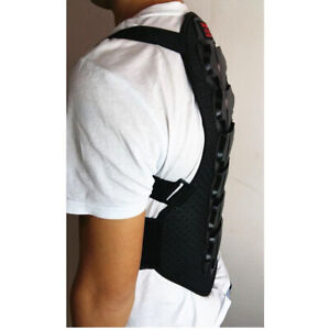 Motorcycle Bicycle  Skiing Motocross Racing Back Protector Spine Armor