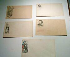5 Civil War Patriotic Covers