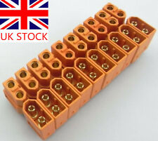 NEW 20Pcs 10Pair XT60 Male Female Bullet Connectors Plugs For RC LiPo Battery UK