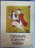 Miniature d'amore indiane - Sebastiana Papa - COPIA NUMERATA - Della Valle 1969