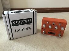 Empress Effects Tremolo 2 Guitar Effects Fx Pedal