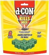 d-CON Refillable Corner Fit Mouse Station, 1 Trap + 6 Bait Refills