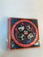 HTF HELLO KITTY KISS Rock Band ART Lenticular Notebook NEW Sanrio