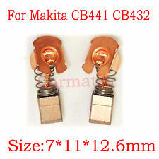 Carbon Brushes For Makita CB432 191976-3 BJR181 BJR240 BLS712 BLS820 BSS610 M2