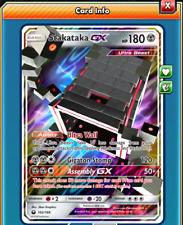 Pokemon TCG ONLINE Stakataka GX (DIGITAL CARD) Celestial Storm Full Art