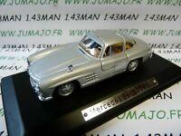 AK1U voiture 1/43 ixo atlas Auto Klassiker : MERCEDES benz 300 SL door opens