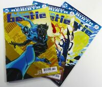 DC Comics BLUE BEETLE (Rebirth 2016) #2 3 4 LOT Cover B VARIANT NM Ships FREE!