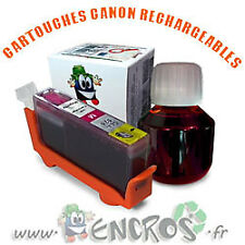 RECHARGEABLE Kit Cartouche Rechargeable Canon CLI8 Magenta