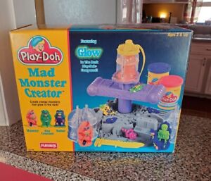 Vintage Play-Doh Mad Monster Creator MiSB 1994 Creature Mummy - Glow In Dark