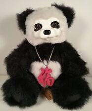 Robert Raikes 1999 Panda Teddy Bear Limited Edition Fortune Cookie #508
