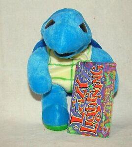 Grateful Dead Turtle Lazy Lightning Liquid Bean Bear Plush vintage terrapin 1983